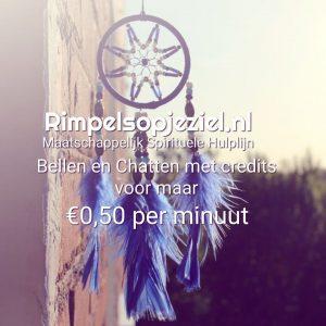 Bellen met credits voor maar € 0,50 per minuut